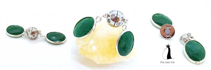 Encased Emerald Stone May