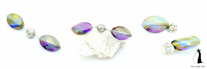 Leaf Crystal Purple