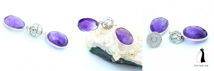 Encased Amethyst February